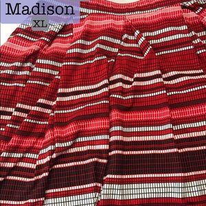 XL LuLaRoe Madison Skirt with Pockets! NWT